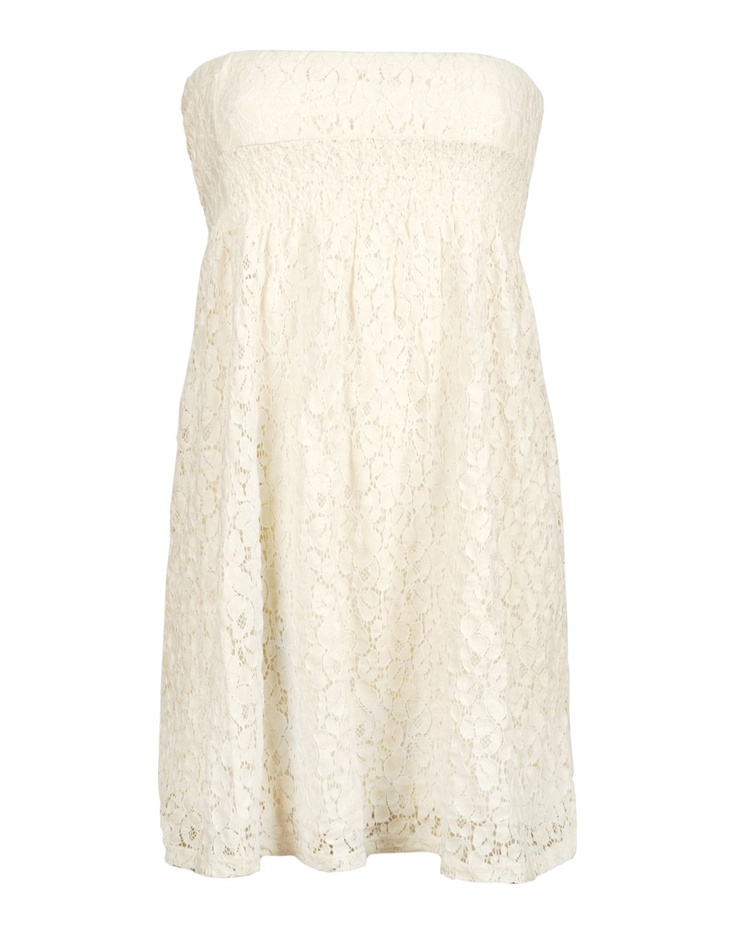 Cream lace summer dress, Ardene.