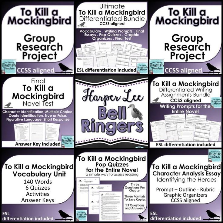 94 best images about Teaching To Kill a Mockingbird on Pinterest ...
