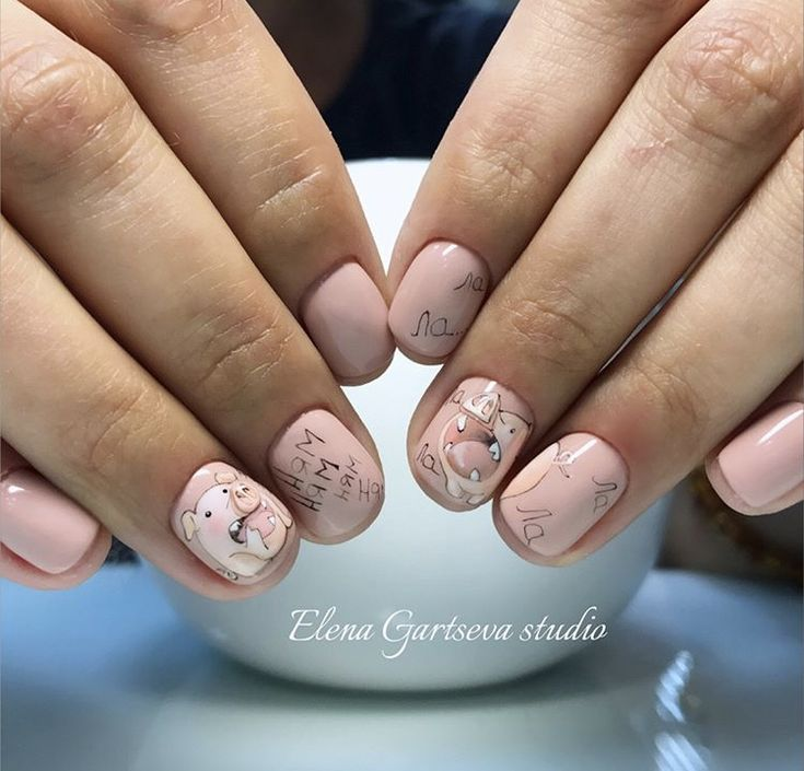 Pig Nail Art: Best 25+ Pig Nails Ideas On Pinterest