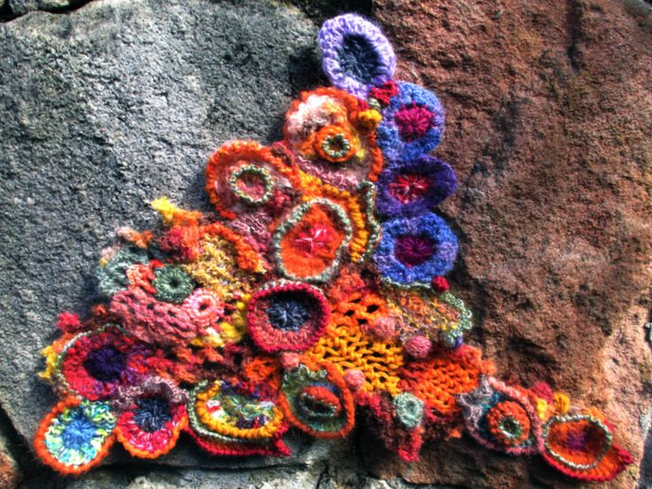 Prudence Mapstone...freeform crochet; from my (sorry, but not recently updated) blog: A Scrumble a Week