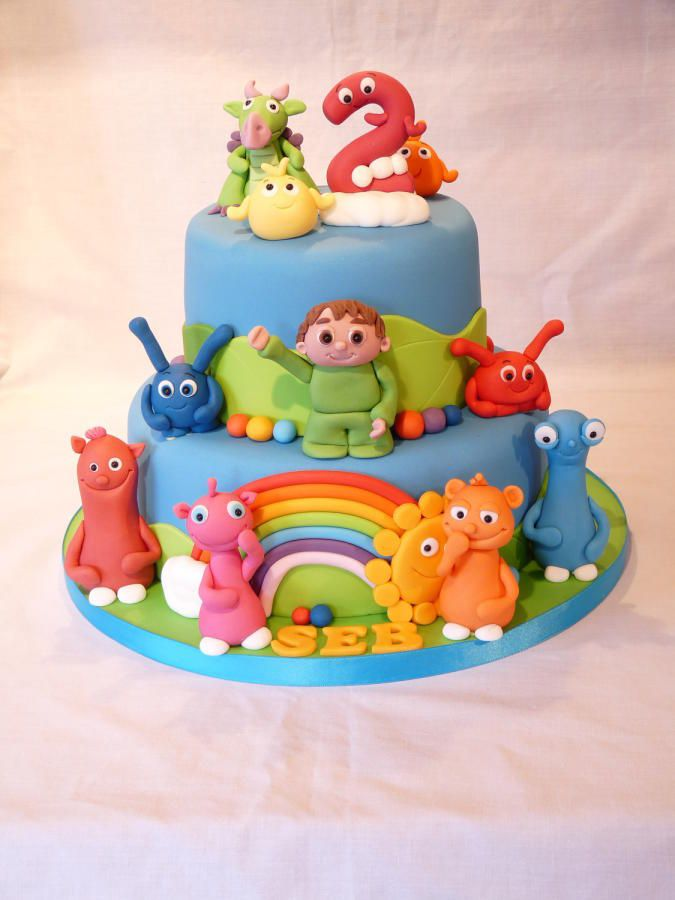 191 Best Images About Baby Tv Cakes On Pinterest Number