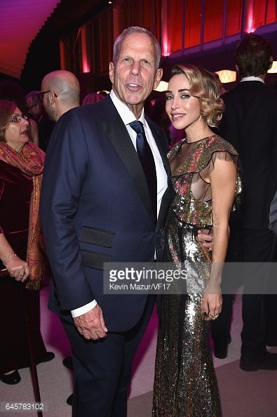 News Photo : Steve Tisch and Katia Francesconi attends the...