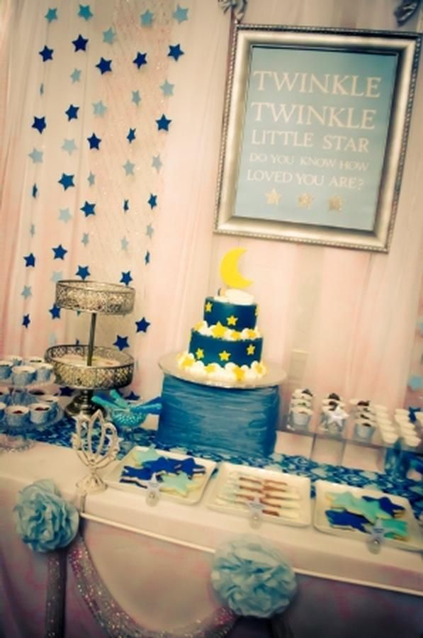 twinkle twinkle little star theme so cute with all the star details