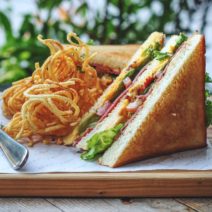The Loewy Club Sandwich to satiate your cravings.