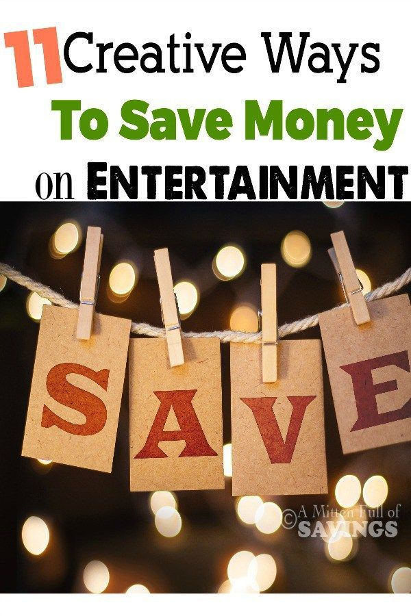 11 creative ways to save money on entertainment money creative and frugal. Black Bedroom Furniture Sets. Home Design Ideas