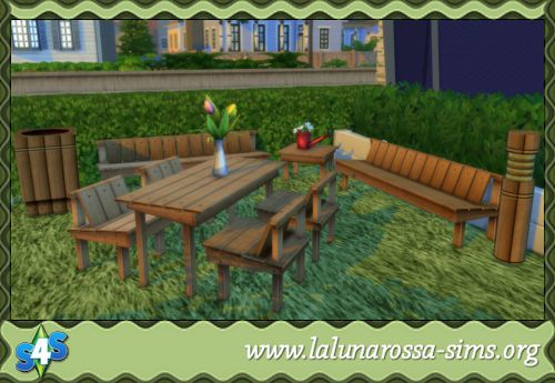 Country Set, Outdoors - LaLunaRossa and The Sims