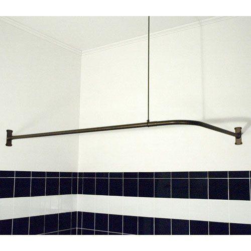 Problem Solvers: 10 Uniquely Shaped Shower Curtain Rods