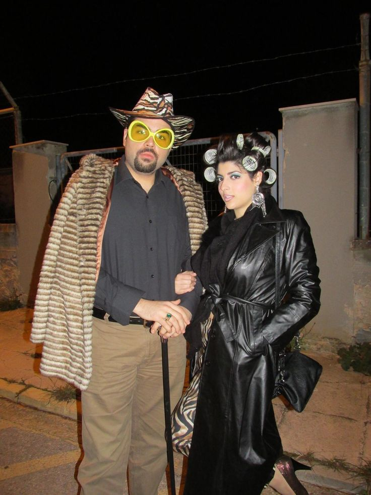 pimp & hoochie diy costume halloween makeup