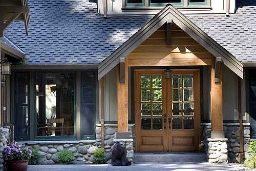 Plan 6975am Lodge Style Retreat Craftsman Style House