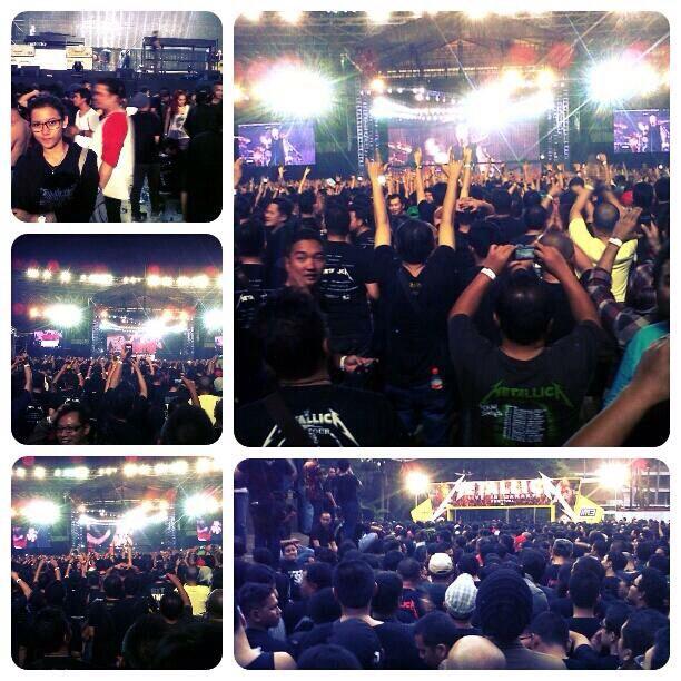 Metal journey #matallica !!! Jakarta