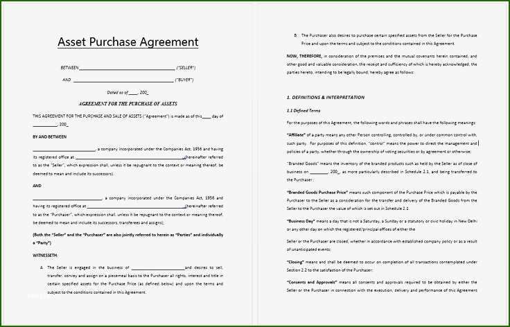 Formidable Asset Purchase Agreement Template That Will Wow You In 2020 Purchase Agreement Templates Make Business Cards