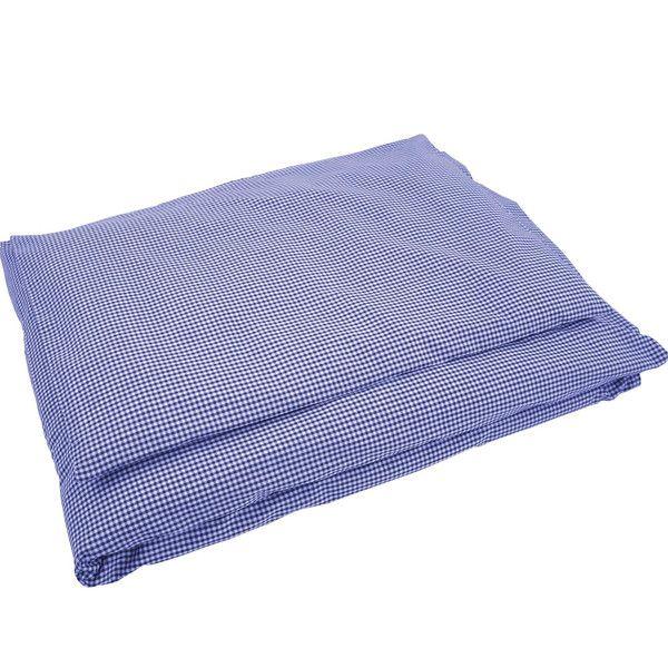 Bettwäsche groß Karo dunkelblau von Sugarapple via dawanda.com