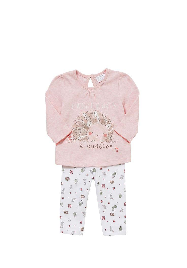 Tesco Direct F Amp F Hedgehog Pyjamas Dziecko Dziewczęce