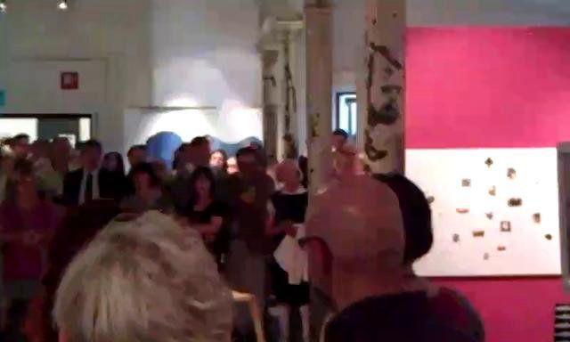 TR1 Taidehallissa näyttely elokuussa 2011.