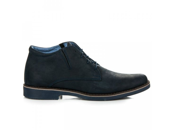 Modré členkové topánky Zdeno