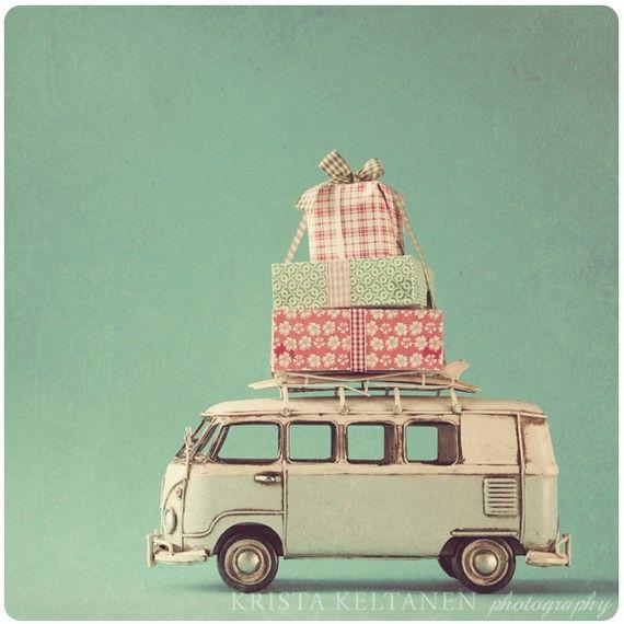Et du transport ! #mapauseentrecopines #perfectbreak #christmas #noel #vw #camper #combi