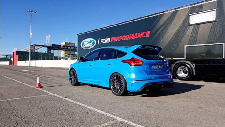 Ford Focus RS Mk3 - Launch Control Demo + медленное движение