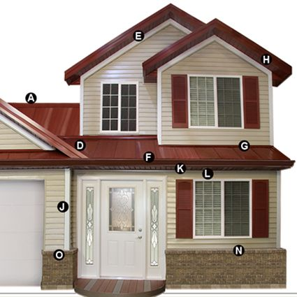 Midwest Manufacturing Residential Steel Roofing And Siding