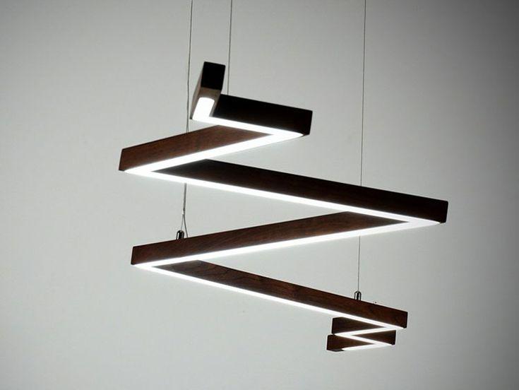 Oltre 25 fantastiche idee su lampade in legno su pinterest for Lampadario legno moderno