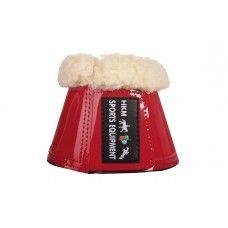 duurzaam - schokabsorberend - beschermt het paardenbeen - klittenbandsluiting - voering: teddybont - kunstleder - per paar - wasmachinebestendig tot 30 graden - mag in de droogtrommel