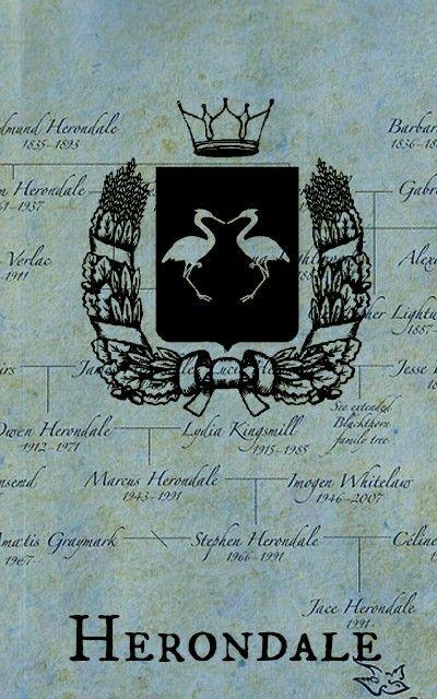 CAZADORES DE SOMBRAS FAMILIA HERONDALE