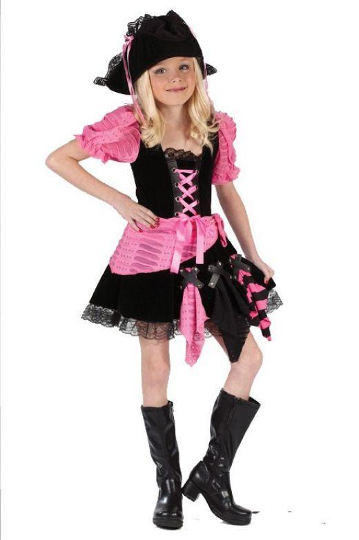 Little girl pirate costume  http://barnaclebill.hubpages.com/hub/piratecostumeideas