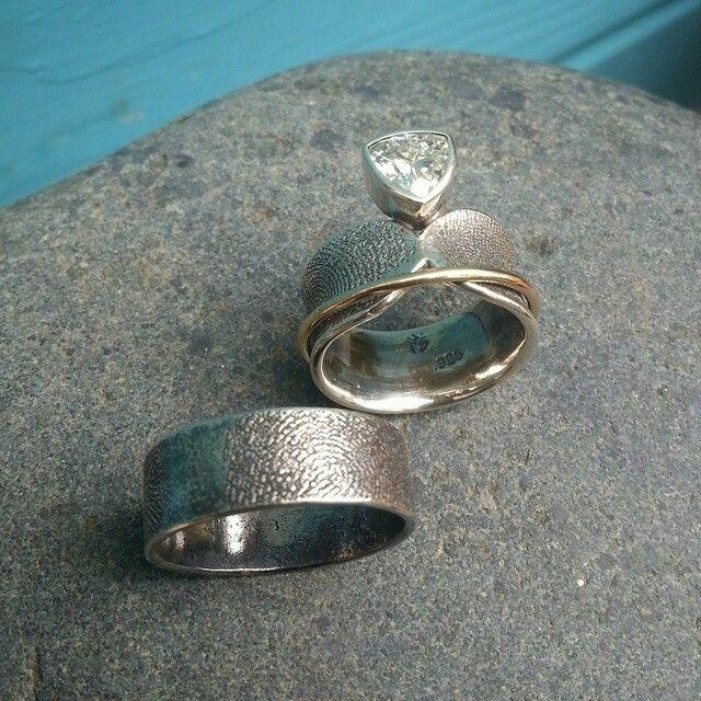 Fingerprint Ring Set