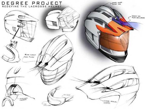 helmet design proces - Google zoeken