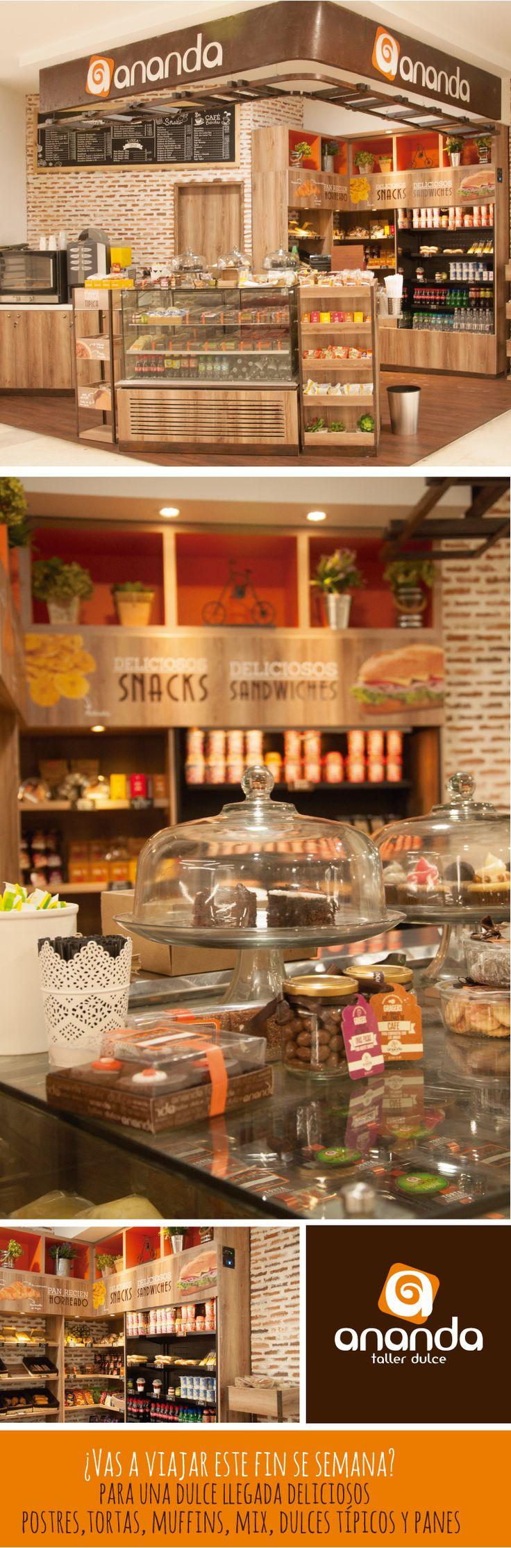 En este largo fin de semana disfruta al máximo un dulce descanso. Visita nuestro Renovado punto de venta en el Aeropuerto Alfonso Bonilla Aragón, grab and go con toda nuestra linea tradicional y mucho más.  #tortas #croissant #postres #cupcakes #postres #cupcakes #dessert #muffins #brownies #galletas #cookies #cupcakemania #reposteria #foodlove #anandatallerdulce #cali
