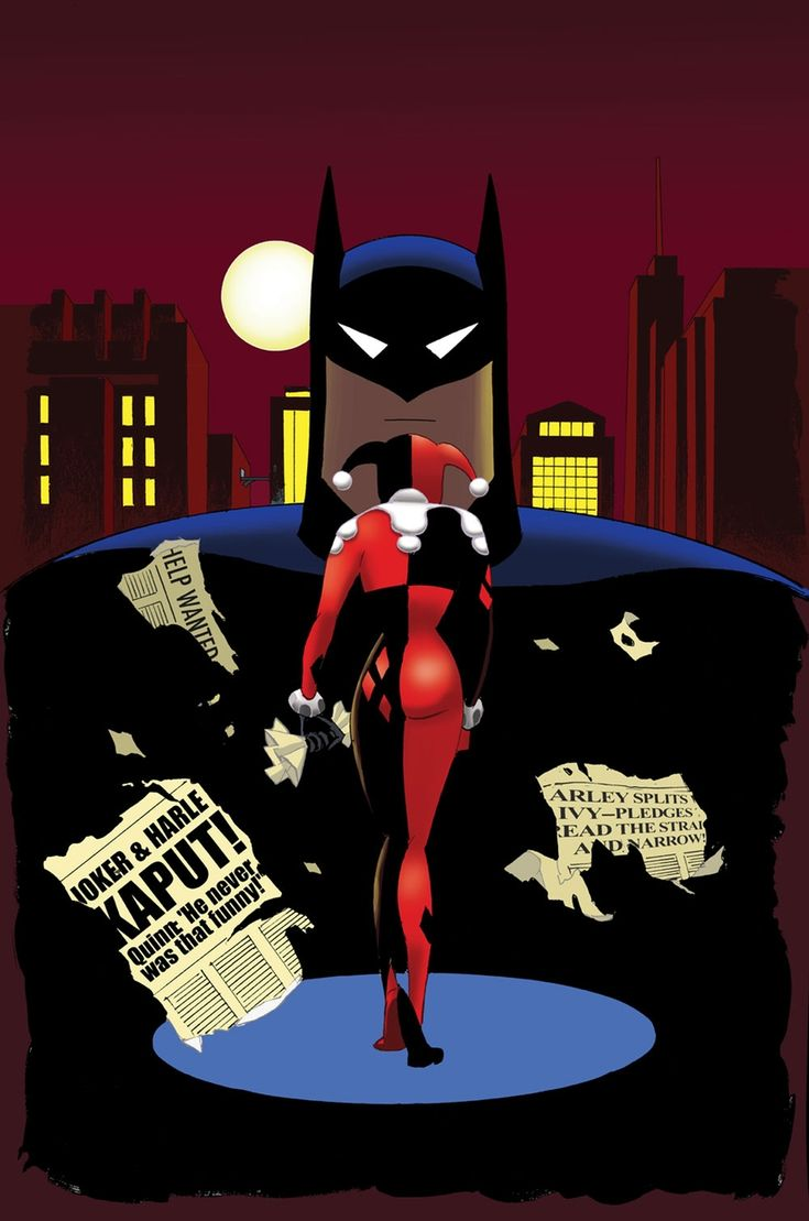 Fashion of the bat an extremely thorough examination of batman s - Harley Quinn And Batman Prequel Series For Animated Film Announced As Digital First