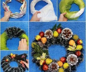 Decorating your home with your family is one of the most exciting things to do during the holiday seasons.Inaddition to putting up a real Christmas tree, we can fill Christmasspirit in our home or office with some creative handmade Christmas trees. Here is anice DIY projectto make a mini Christmas …