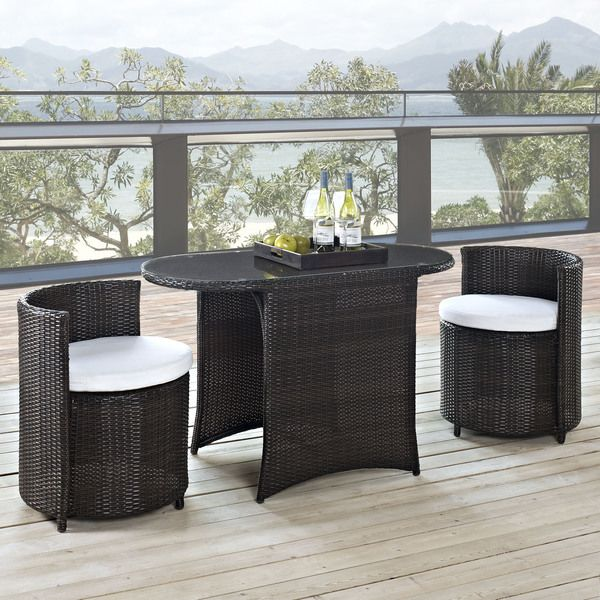 Don't want to get out of the home but yet want the feel of a restaurant? Get the Katonti 3 Piece Outdoor Patio Dining Set and enjoy your private moments, restfully. https://www.barcelona-designs.com/products/katonti-3-piece-outdoor-patio-dining-set-1?utm_content=bufferb6c79&utm_medium=social&utm_source=pinterest.com&utm_campaign=buffer #midcenturymodern #midcenturystyle #midcenturychair #midcenturydesign #midcenturyfurniture #interiordesign #interiorstyle #interiordecorating…