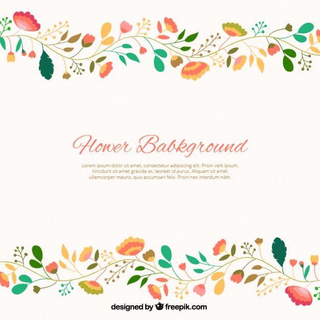 Fondo de flores lindas