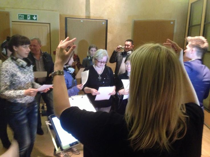 Corporate Team Building Workshop Vocal Coaching / Directing Recording Experience