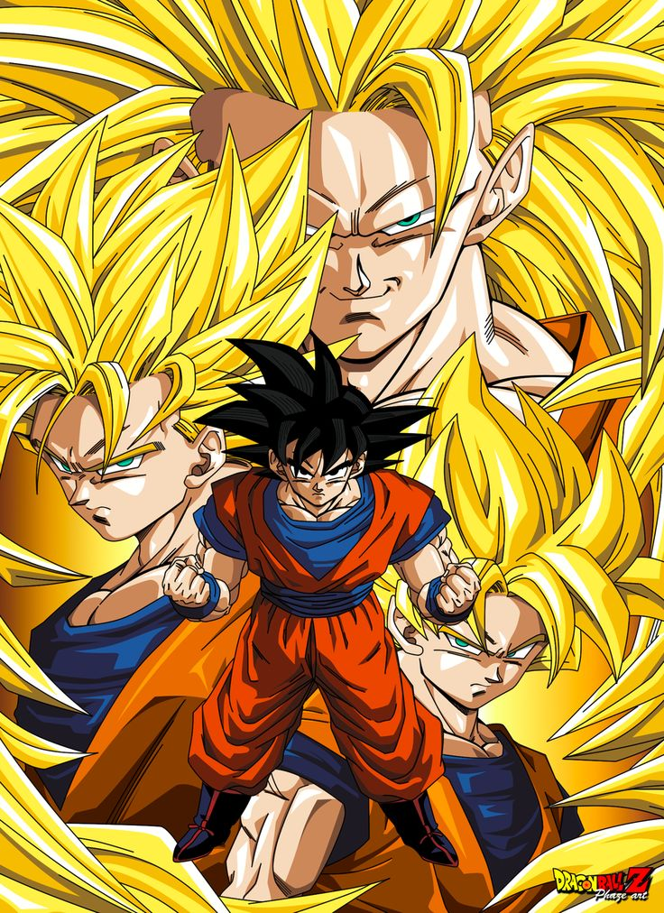 Dbz goku the saiyan see more cartoon pics at www - Goku 5 super saiyan ...