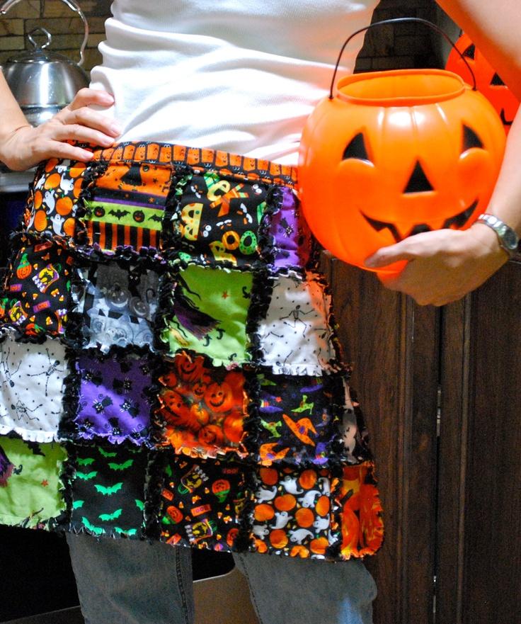 9 best halloween rag quilts images on Pinterest Rag quilt, Autumn decorations and Halloween blocks