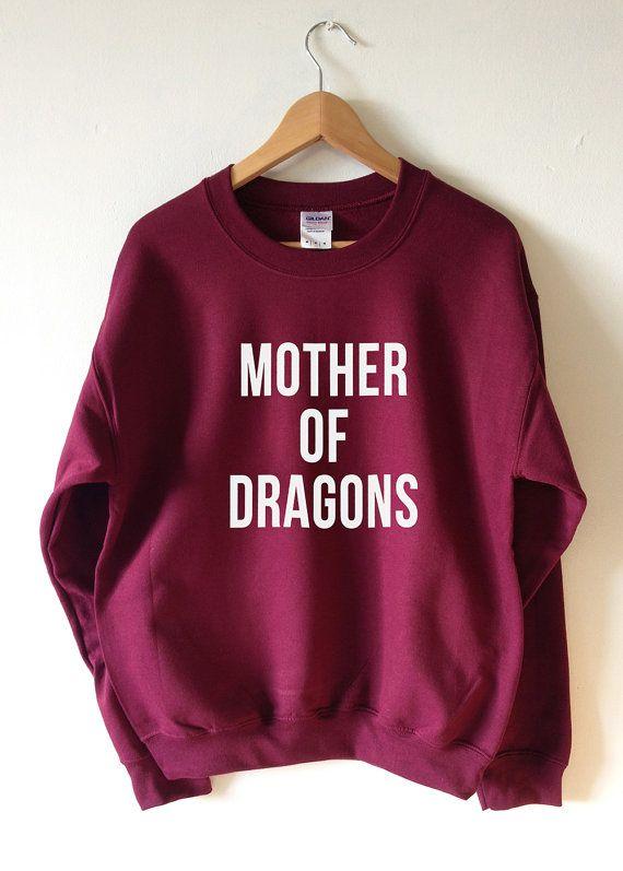 Mère des Dragons Sweatshirt pull haute qualité par Tmeprinting