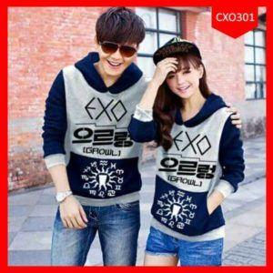 Sweter Couple Exo Growil Terbaru