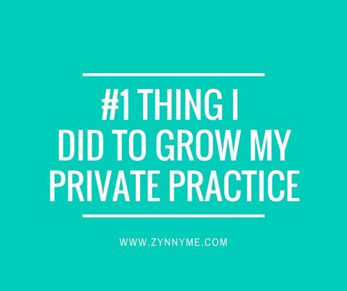 The #1 thing that grew my private practice — Private Practice Experts Kelly…