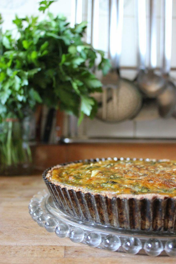 Tarte spécial restes : fanes et soupe de carottes ...
