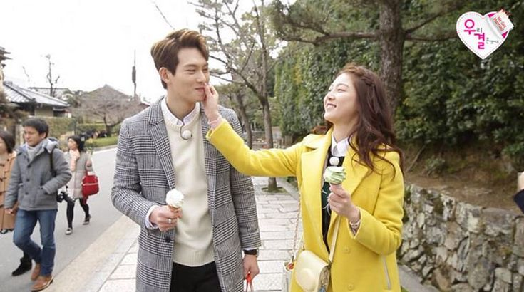 """Lee Jong Hyun and Gong Seung Yeon Go On a Lovely Ice Cream Date on """"We Got Married"""""""