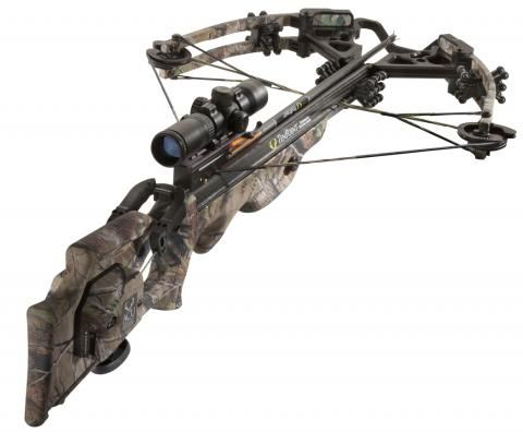 "TenPoint Carbon Fusion CLS:  If you are following this board then you are probably a fan of the walking dead, and if you are a fan of the walking dead then you likely are a fan of Daryl Dixon.    Well this is a cross bow that would make daryl drool. Weighing less than 8lbs this 38.5"" assisted draw cross bow comes with  scope, a monopod, six bolts, a four-arrow quiver, and a case for $2000"