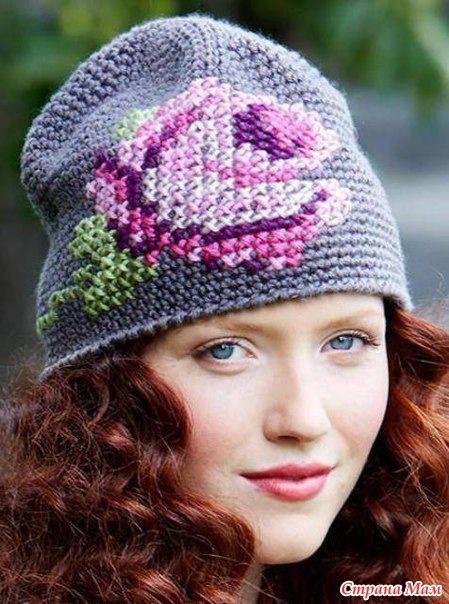 """Доброго времени суток, страномамочки Начинаем вязать интересную шапку крючком. Меня зовут Лиля, и ко мне на """"ты""""."""