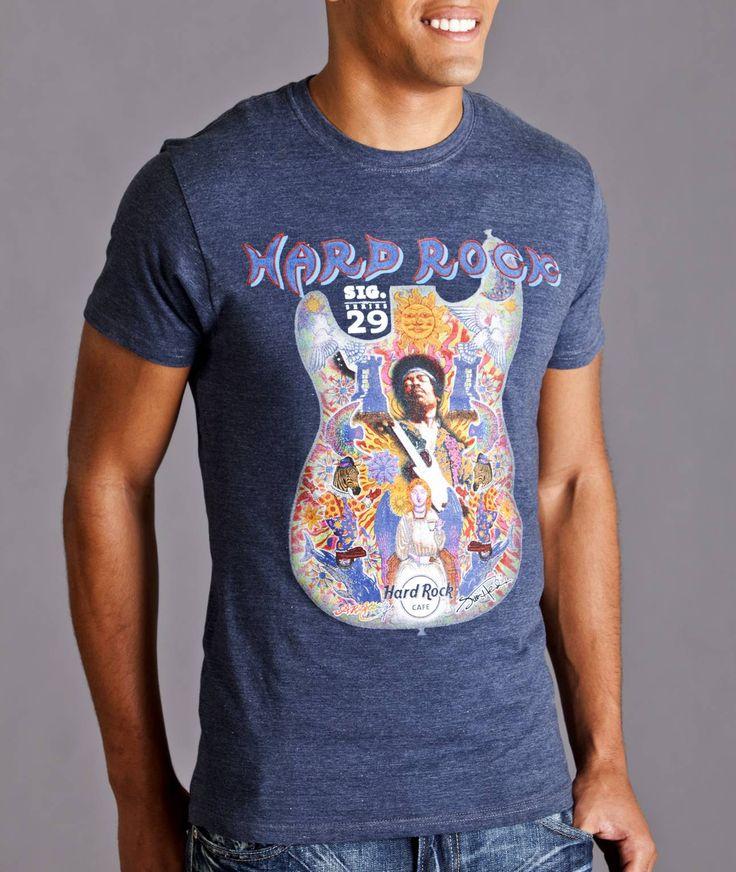 Hard Rock Cafe T Shirt Jimi Hendrix
