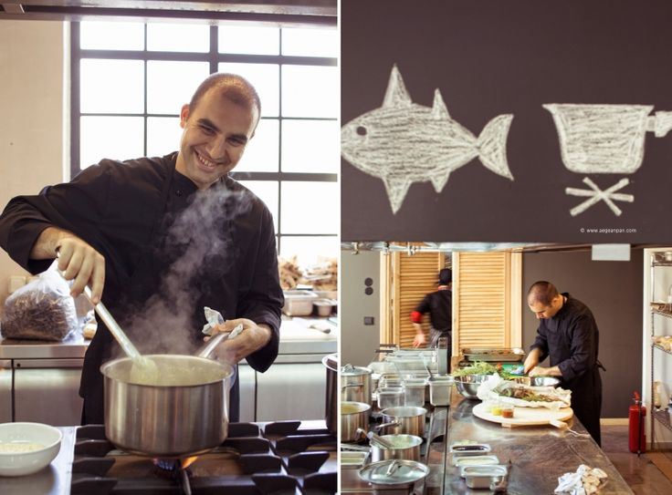 Sunday's lunch by Chef Nikos Petrakis at Ergon Greek Deli + Cuisine Skiathos