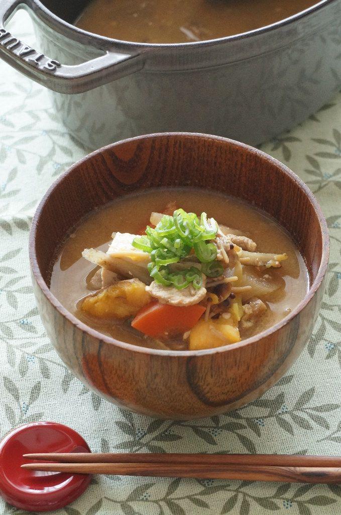 junjunの野菜日記 : ストウブで作る♪豚汁