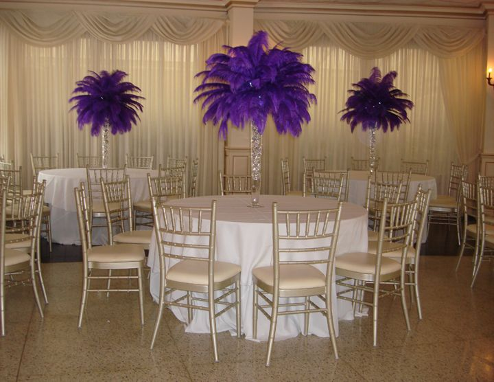 Tall Centerpieces With Feathers : Best ostrich feather centerpieces ideas on pinterest