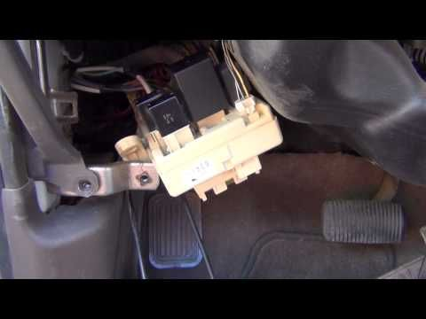 3rd Generation Toyota 4Runner Flasher Replacement - YouTube