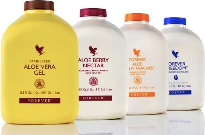 There are 4 Forever Living Aloe Vera Gel flavours to choose from. Which is your favourite? The original Stabilized Aloe Vera Gel, Aloe Berry Nectar - Cranberry and Apple, Forever Aloe Bits 'n Peaches, or the Orange flavoured Forever Freedom Aloe Vera Gel.
