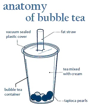 Anatomy of Bubble Tea